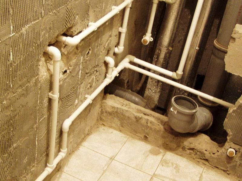 Замена труб в ванной и туалете, как поменять своими руками (видео инструкция)