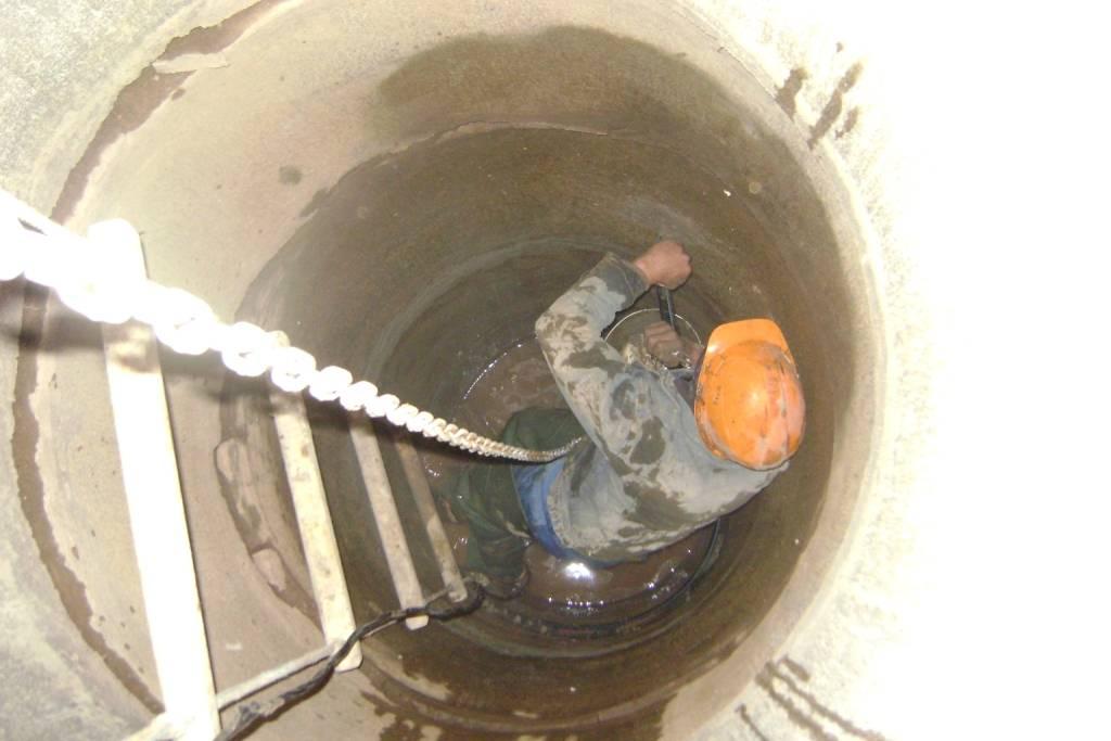 Герметизация колодезных колец: подготовка + проведение работ | гидро гуру