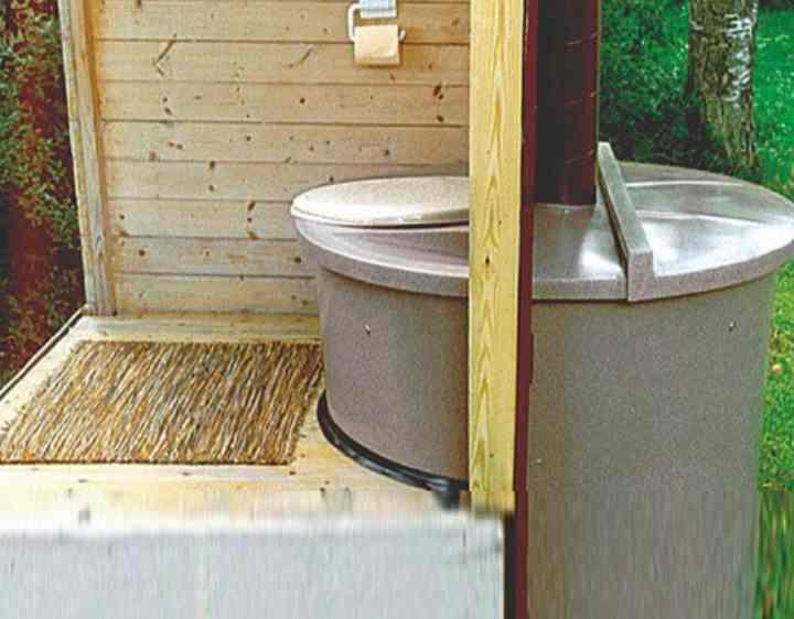 Как работает торфяной туалет для дачи и наполнители для него