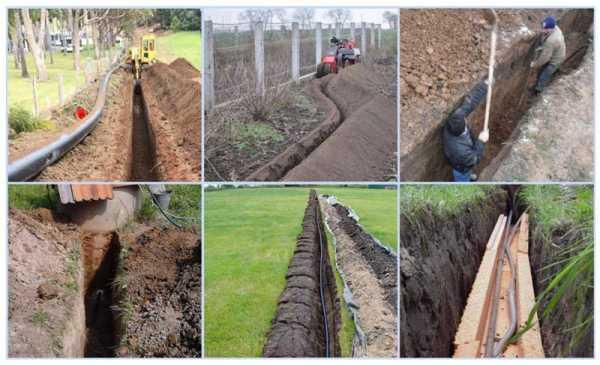 Как правильно уложить трубы для канализации в землю?