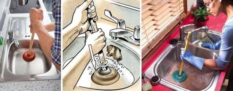 Засорилась ванна - как прочистить в домашних условиях: устранить засор быстро