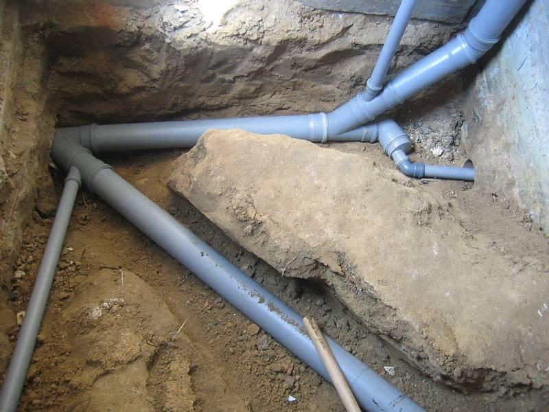 Разводка канализации - схема внутренней разводки в доме