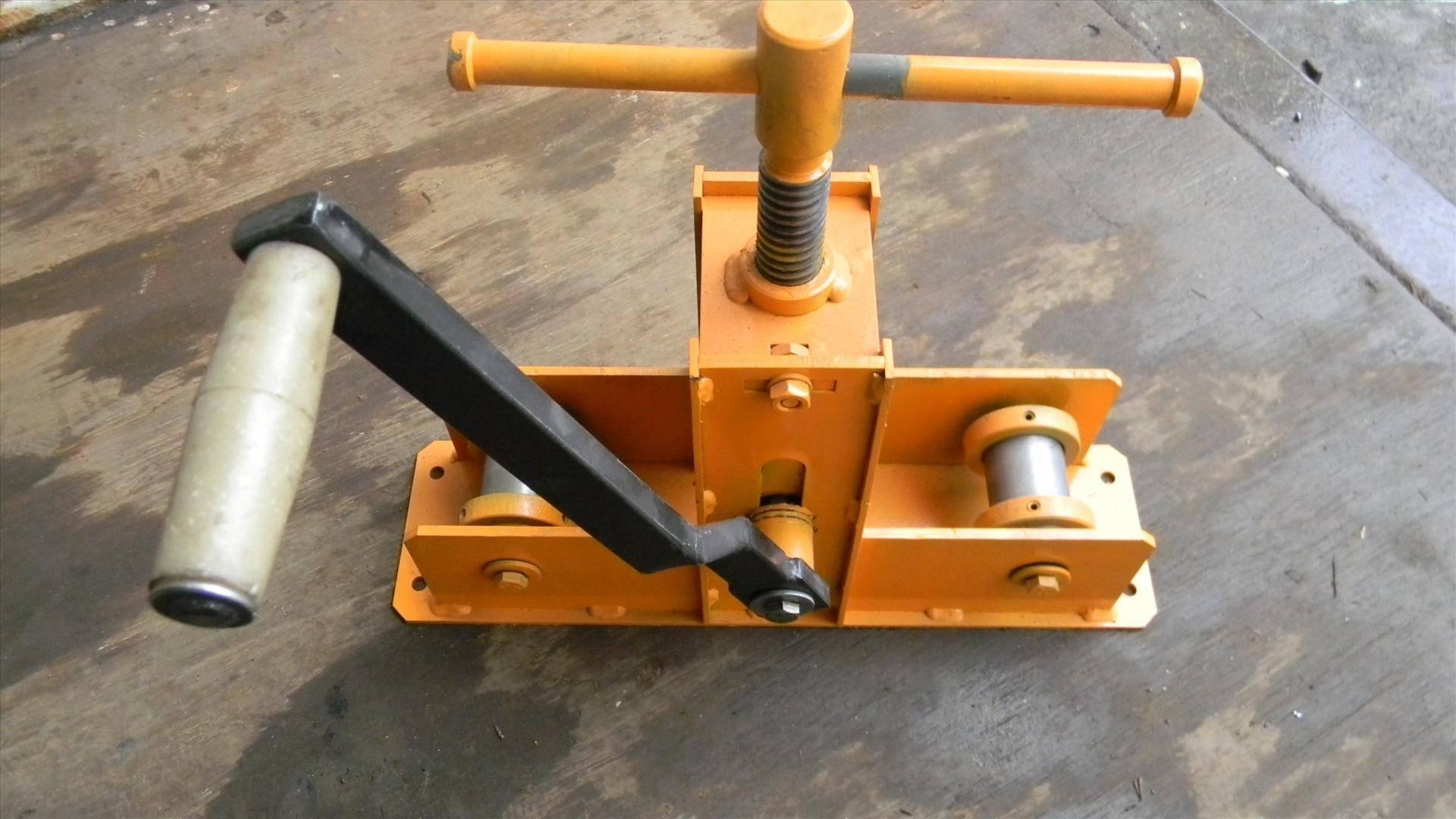 Конструирование трубогиба для профильной трубы своими руками
