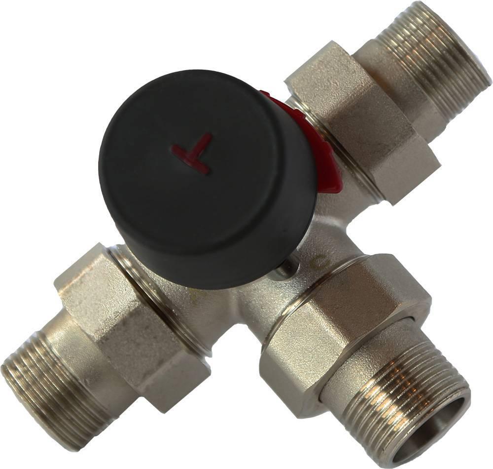 Зачем нужен трехходовой клапан для отопления с терморегулятором и как его выбрать?