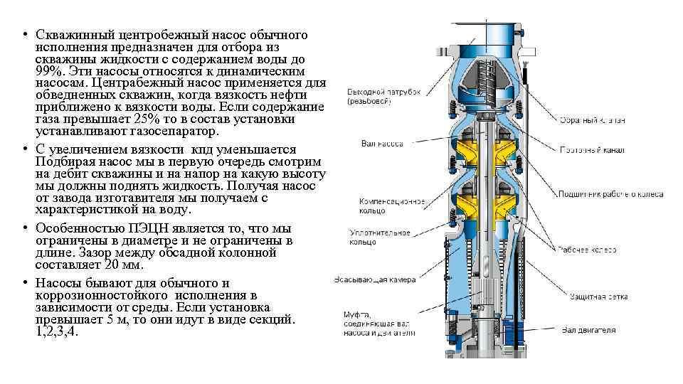 Отличие вихревого насоса от центробежного - без воды на vodatyt.ru