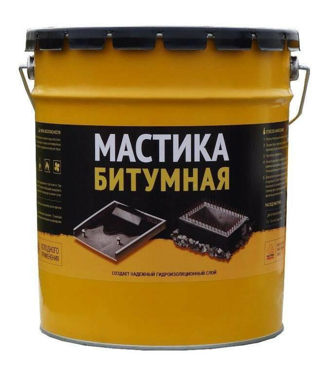 Битумная мастика холодного применения для строительных конструкций: инструкция, видео и фото