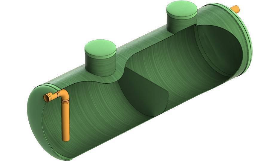 Устройство пескоуловителя для ливневой канализации