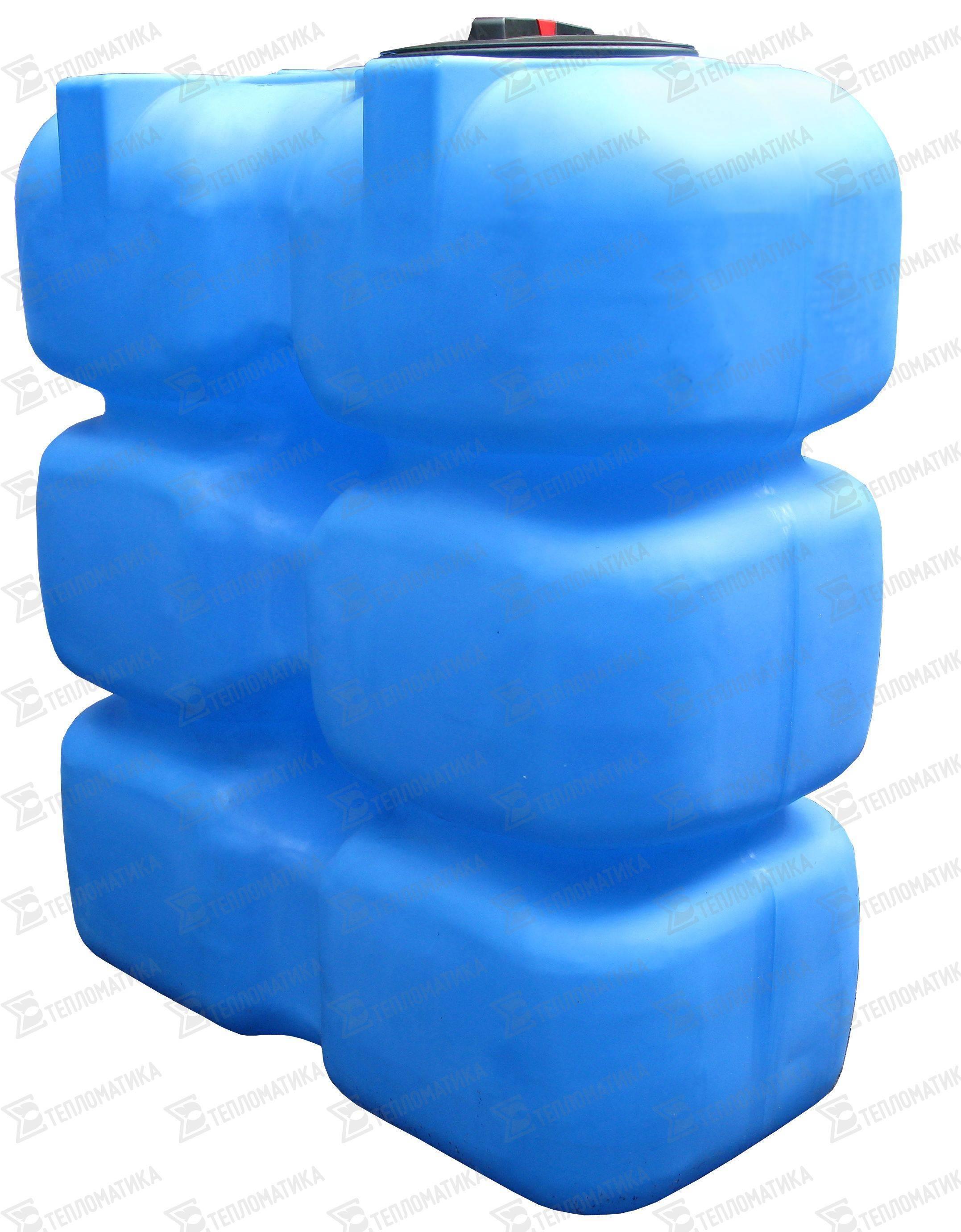 Пластиковая накопительная емкость для канализации: виды, модели и цена +видео