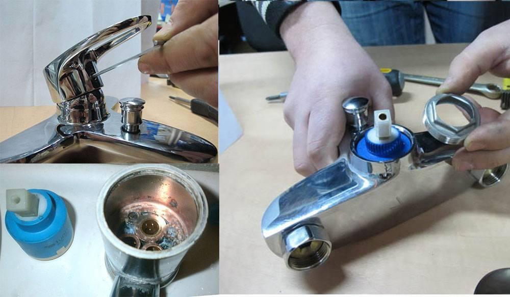 Шаровый смеситель: как разобрать, ремонт своими руками (+ видео)