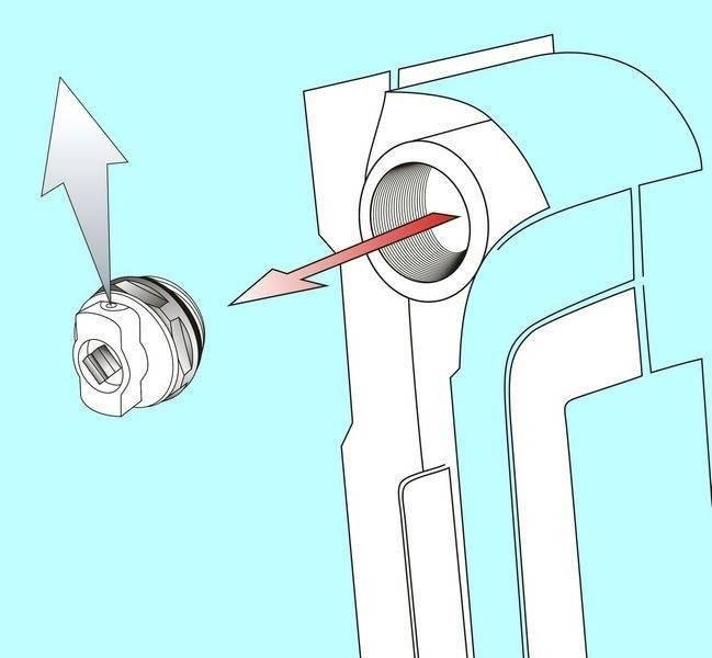 Кран маевского принцип работы; установка его в радиатор, чтобы спускать воздух