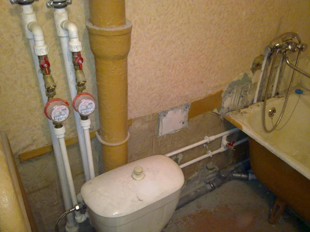 Как правильно провести замену водопровода