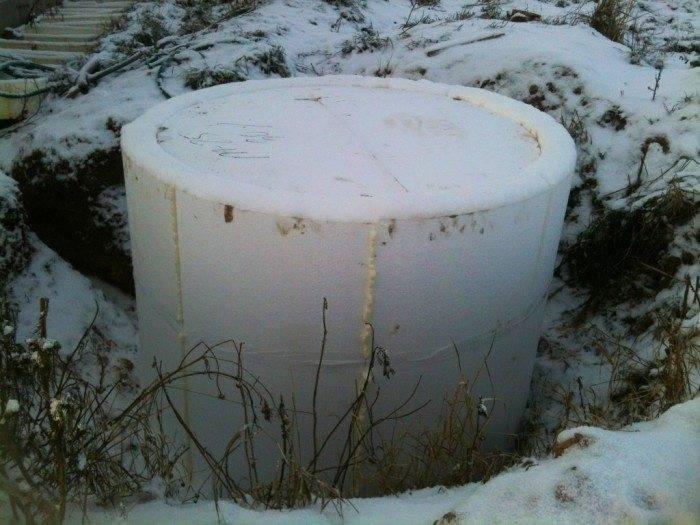 Утепление колодца своими руками: как утеплить колодец на зиму без затрат