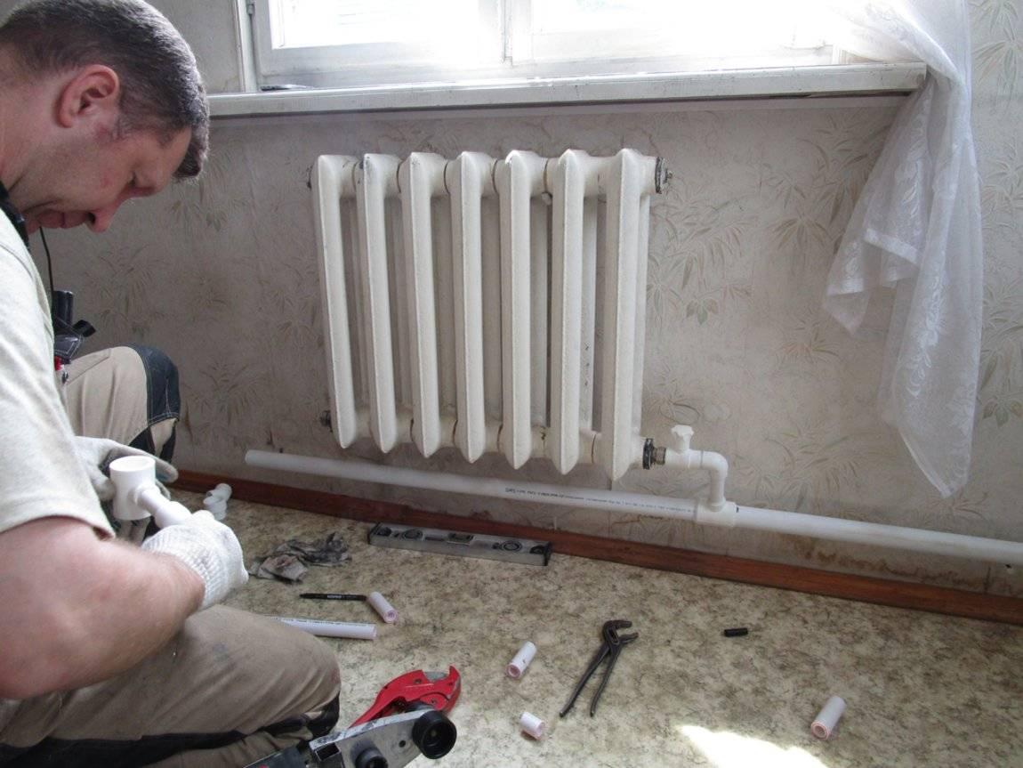 Грамотная установка радиаторов отопления своими руками в квартире    stroimass.com