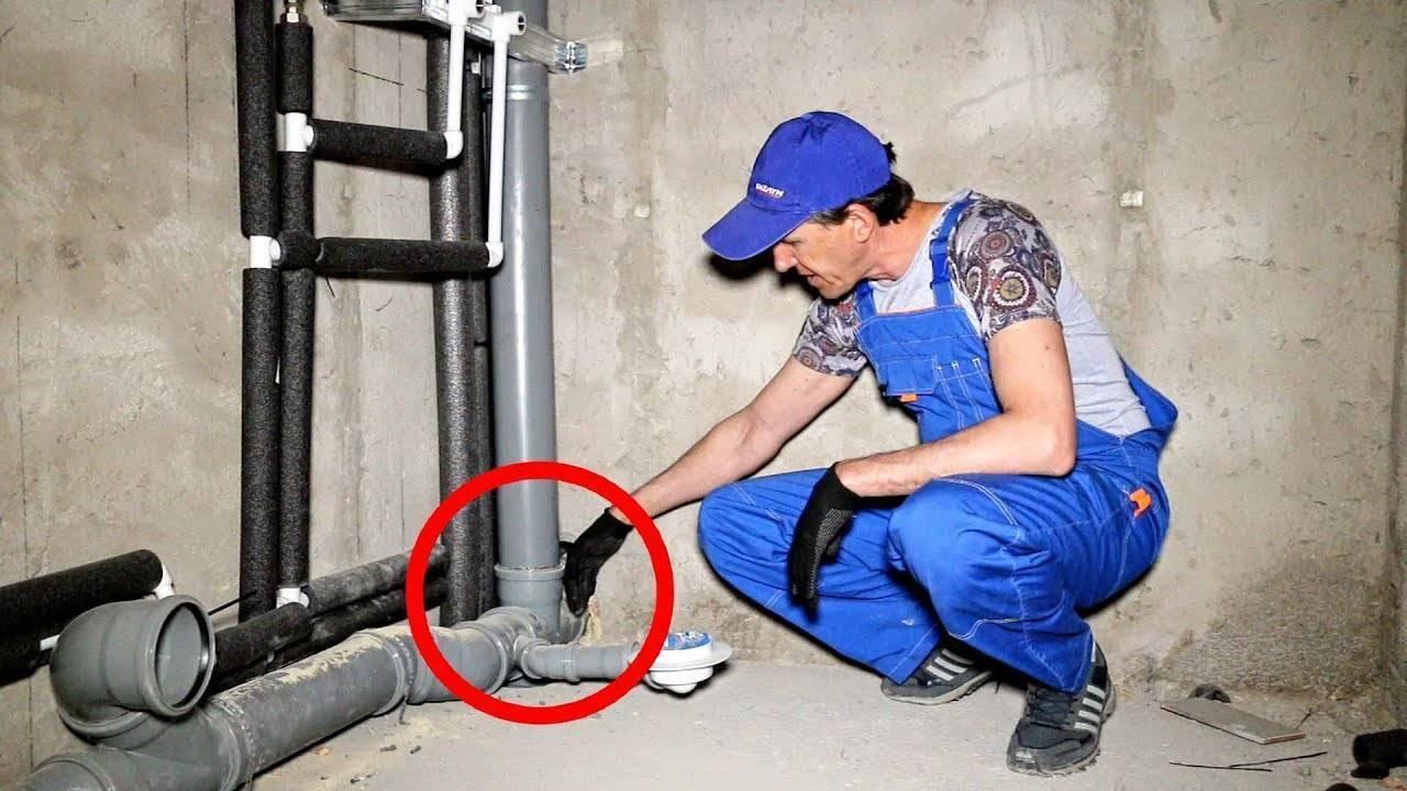 Замена канализации в квартире в москве и московской области