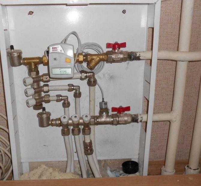 Как установить счетчик на отопление в квартире: виды счетчиков, нюансы установки