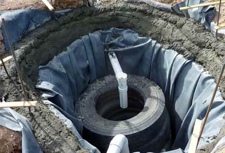 Выгребная яма из покрышек своими руками: пошаговая инструкция