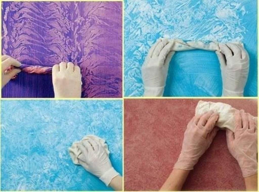 Покраска стен в ванной - правила и фото