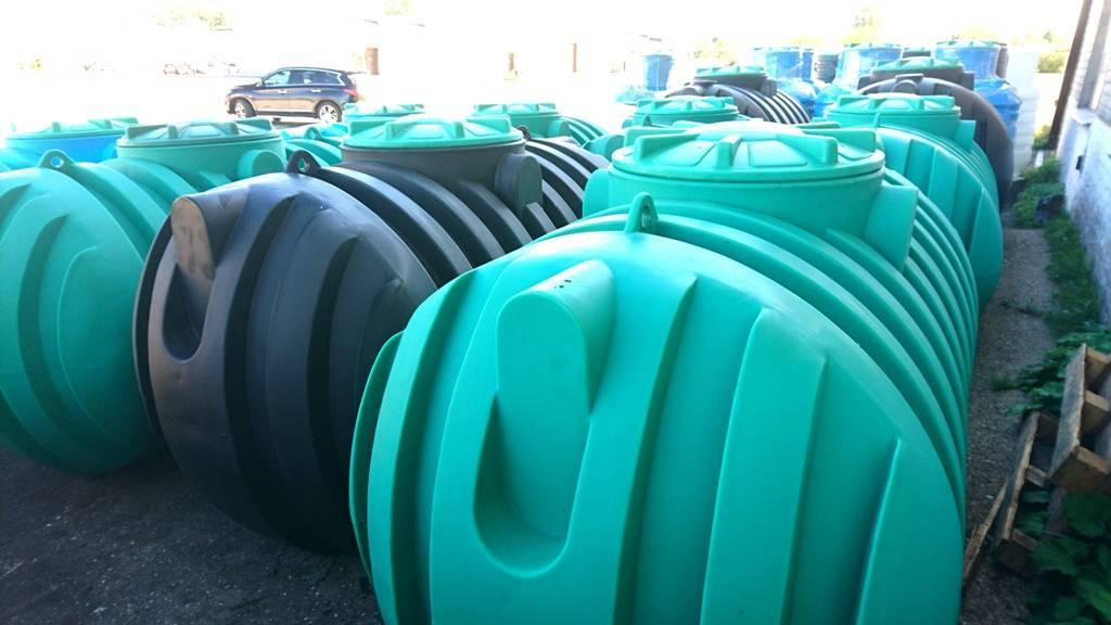 Септик пластиковый для канализации — где купить дешевле