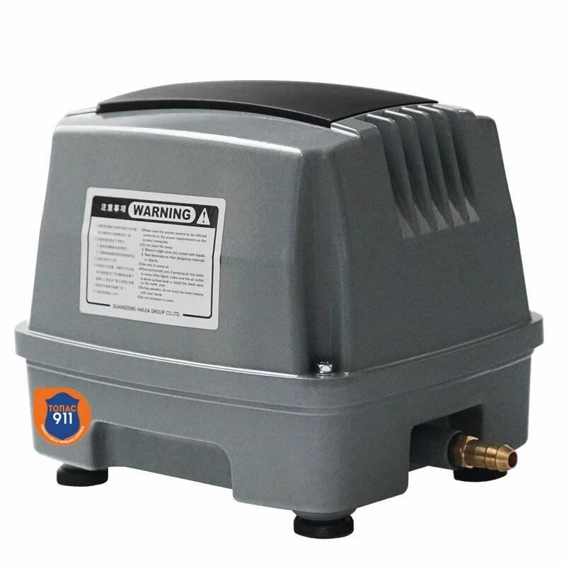 Воздушный компрессор для аэрации септика: принцип работы, характеристики и критерии выбора