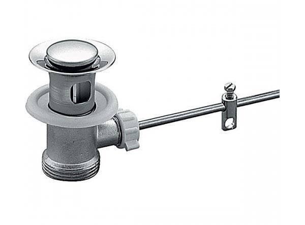 Что такое донный клапан в смесителе?