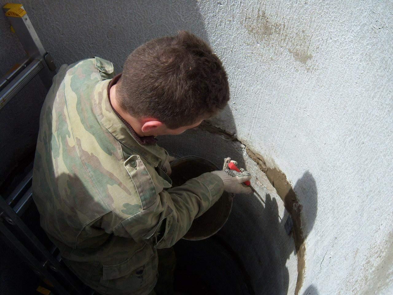 Гидроизоляция септика и колодца из бетонных колец