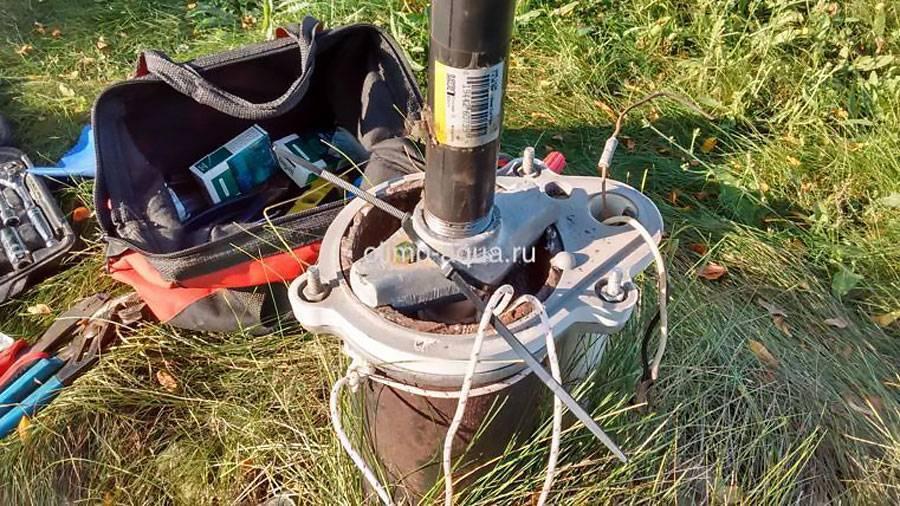 Как достать насос из скважины если он оторвался? - все гениальное просто... ← hodor