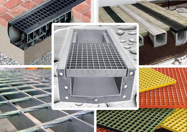 Водоотводные бетонные лотки: виды и специфика монтажа