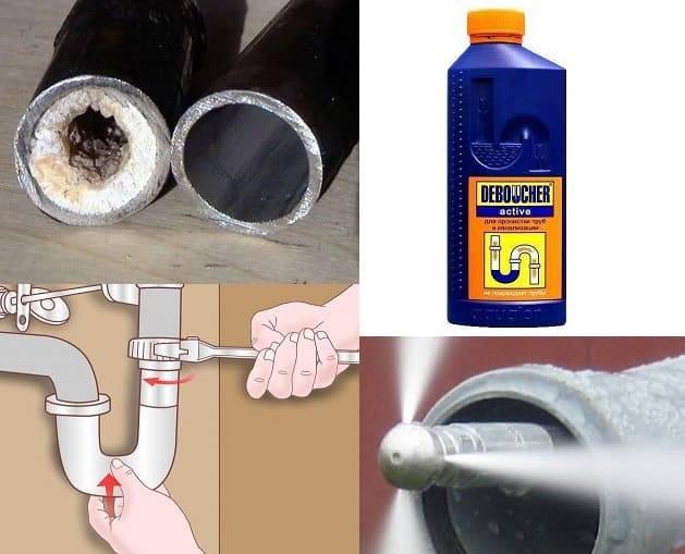 Как прочистить засор в трубе на кухне: 11 способов чистки и профилактика  | mirnadivane.ru