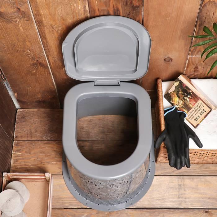 Бюджетный туалет на дачу своими руками
