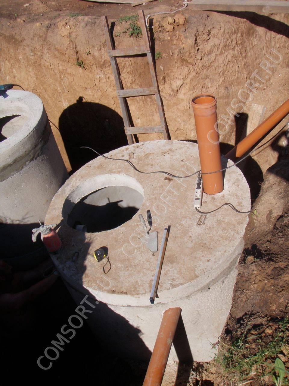 Септик fast - современная надежная система очистки канализационніх стоков