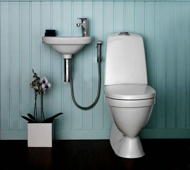 Как подключить гигиенический душ в туалете - всё о сантехнике