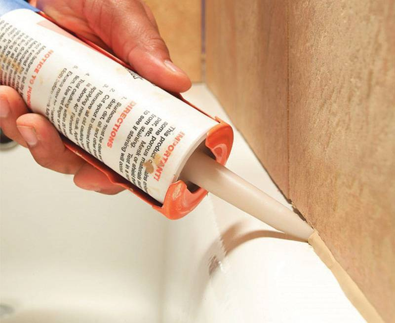 Какой герметик лучше для ванной – определение лучшего  герметика для защиты ванн от влаги