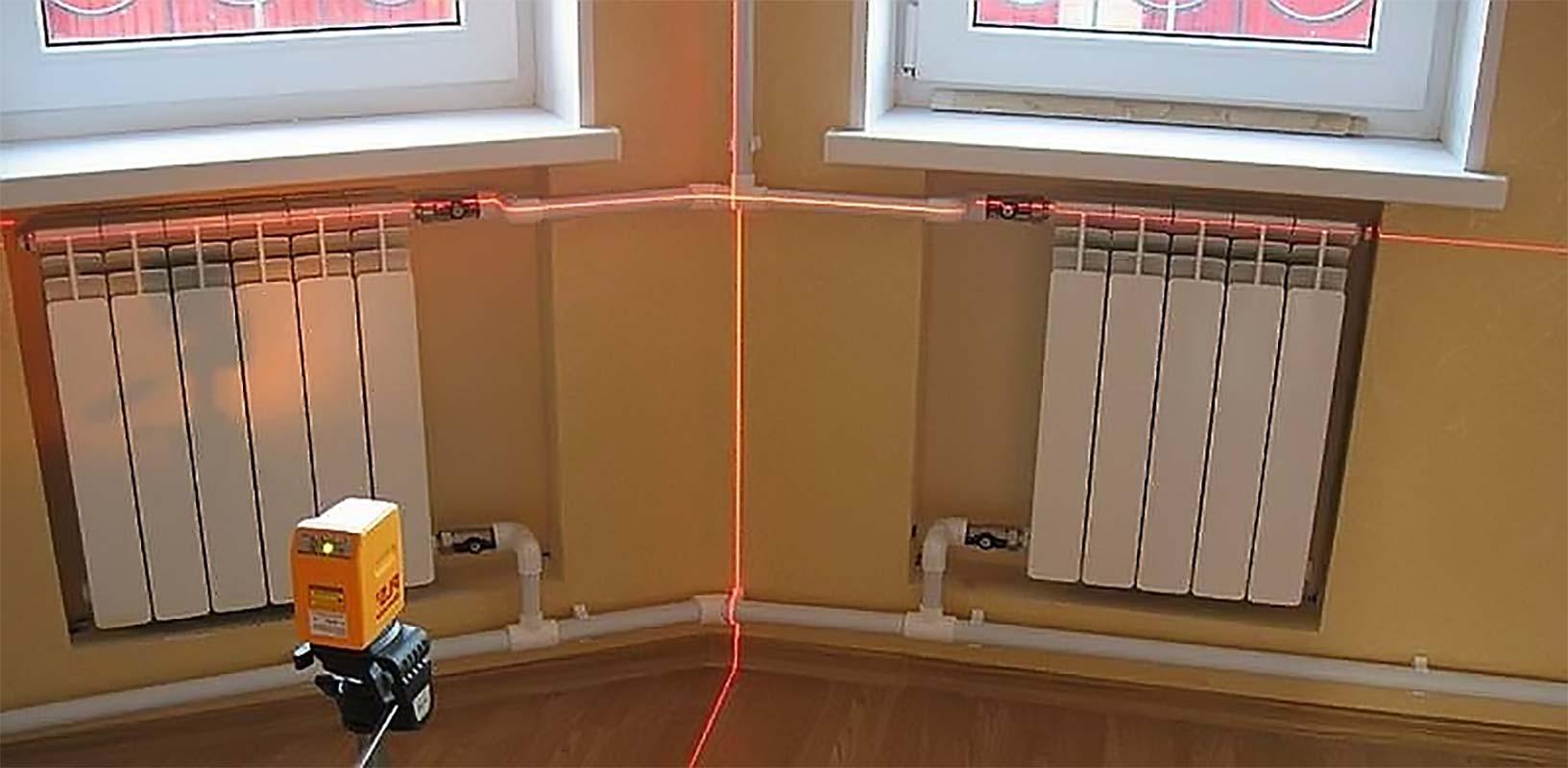 Правильный монтаж радиатора отопления своими руками