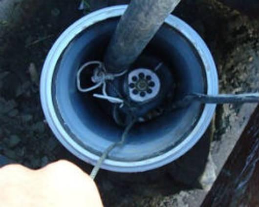 Как достать из скважины застрявший насос если оборвался трос - byrilka