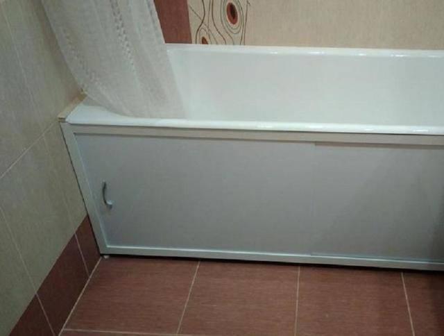 Как установить экран под ванну своими руками — крепление и монтаж (фото, видео инструкция)
