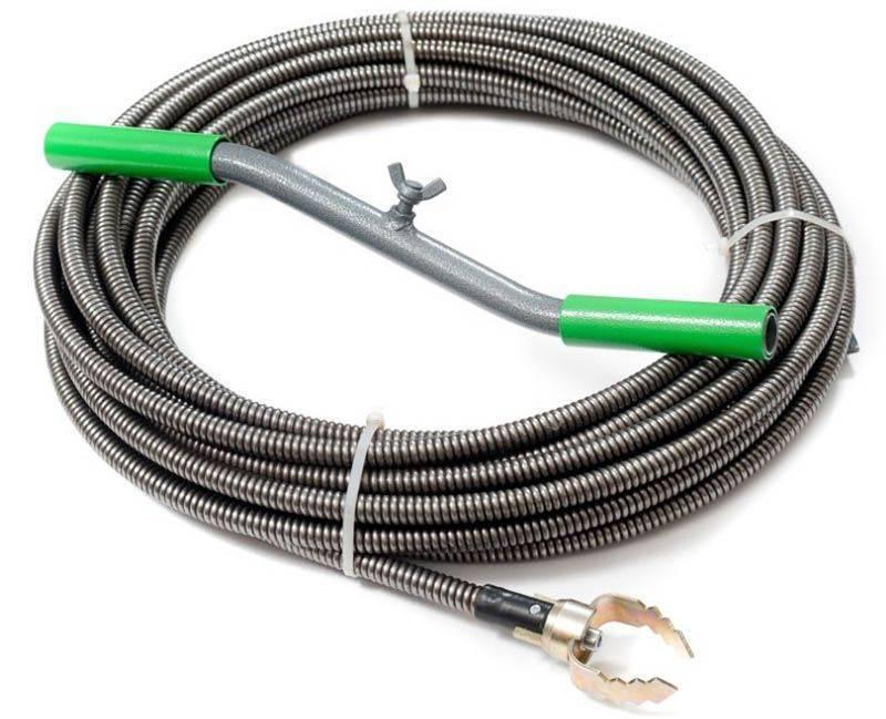 Какие бывают тросы для прочистки канализационных труб?
