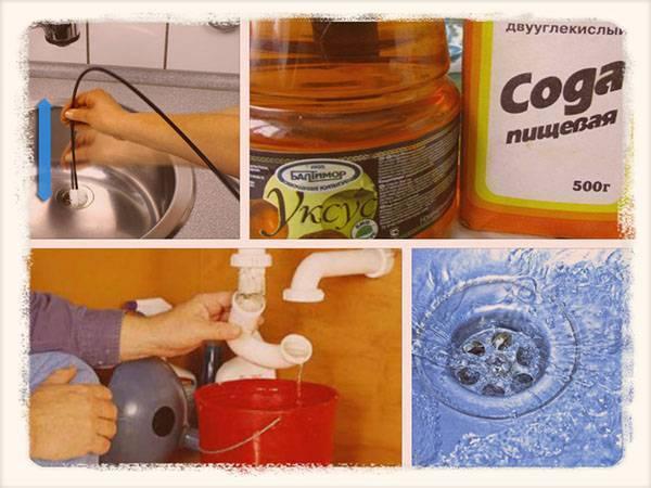 Как устранить засор в раковине: средства и способы прочистки как устранить засор в раковине: средства и способы прочистки