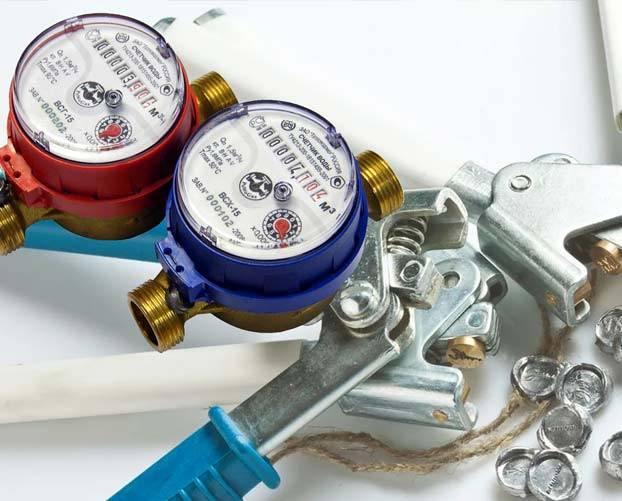 Пломбировка счетчиков воды: платно или бесплатно, заявление, штрафы