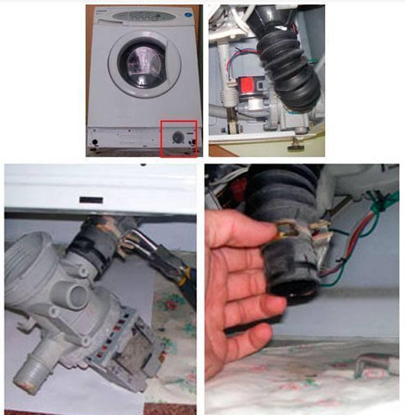 Что делать, если стиральная машинка не сливает воду?