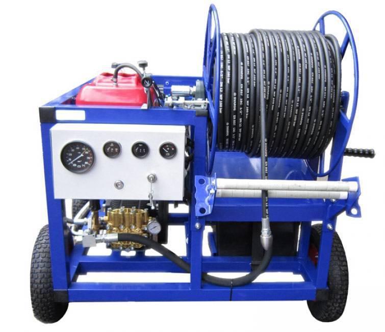 Гидродинамическая машина для прочистки канализационных труб от засоров