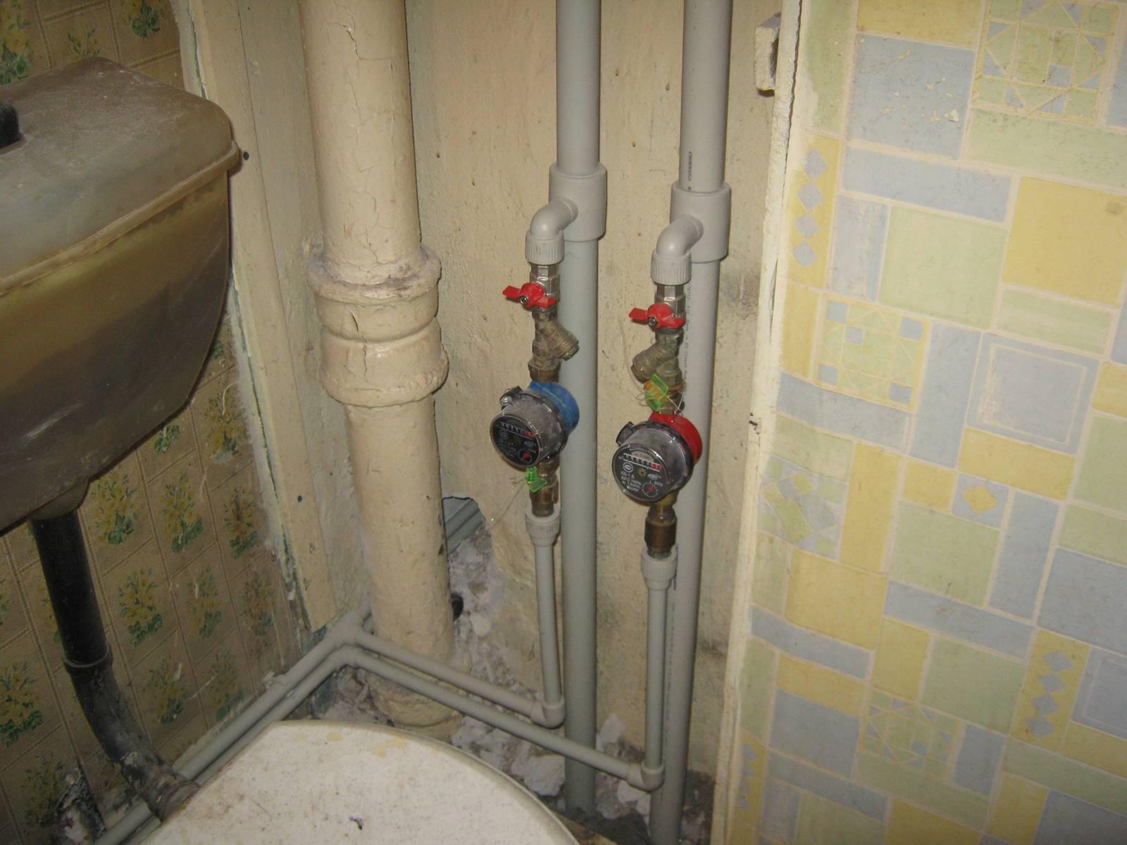 Замена водопроводных труб: как поменять трубы водопровода в квартире своими руками, замена металлических на пластиковые