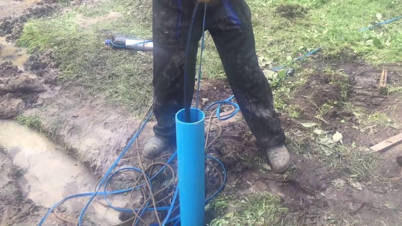 Насос застрял в скважине: как достать насос из скважины своими руками
