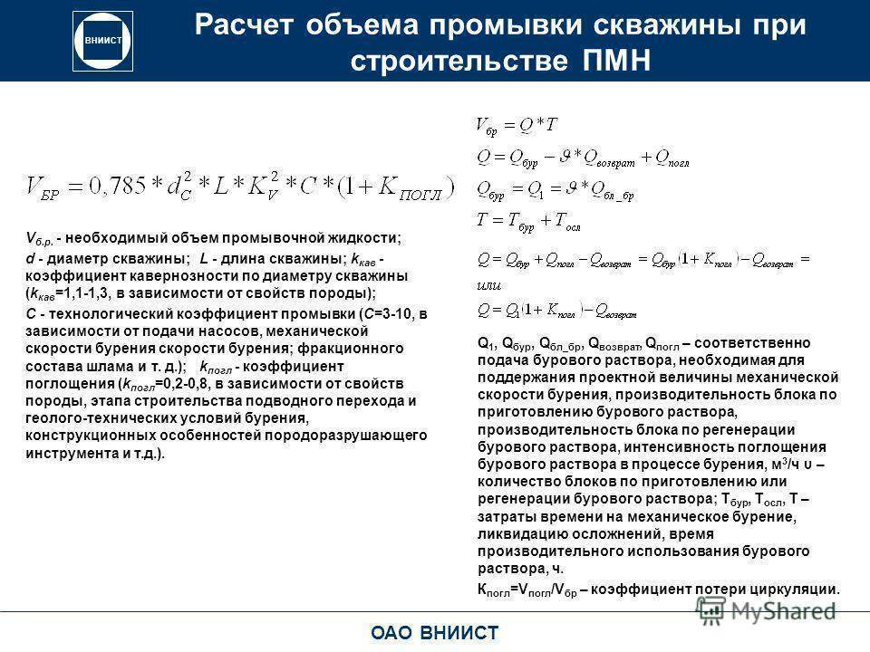 Дебит скважины: удельный и реальный расчет по формуле