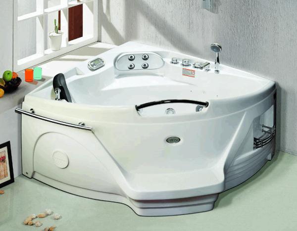Гидромассажная ванна - критерии подбора, система массажа и 115 фото основных видов