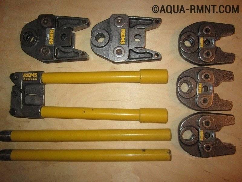 Пресс-клещи для металлопластиковых труб: виды (механические, гидравлические), рейтинг обжимного инструмента