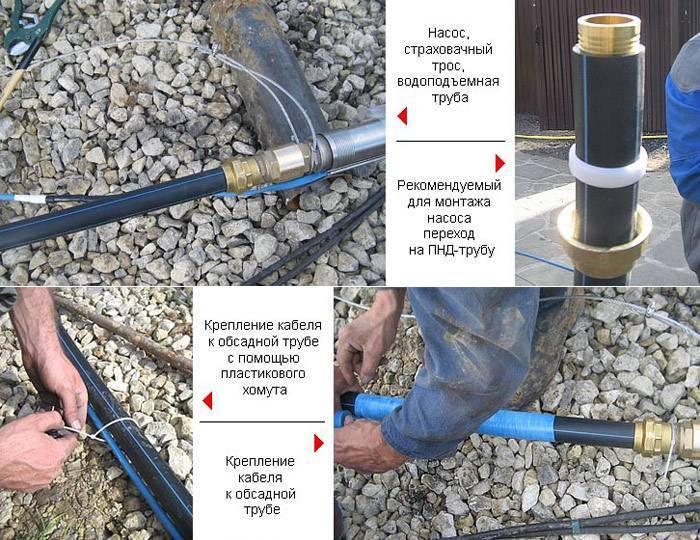 Услуги по замене скважинного насоса специалистами вода-комфорт в московской области