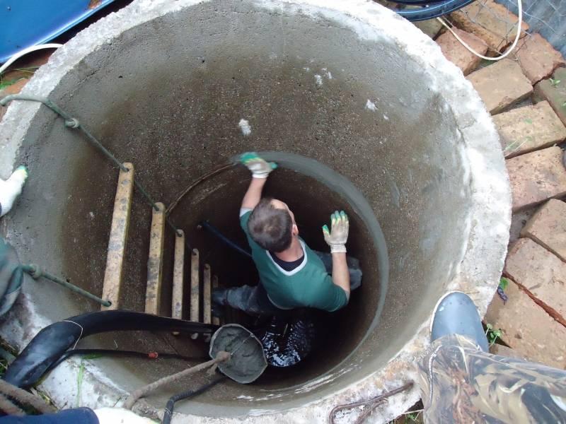 Как почистить колодец своими руками, не спускаясь в него: эффективные способы