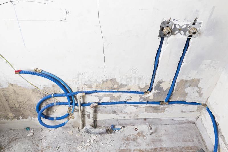 Как спрятать трубы в ванной - трубы и сантехника