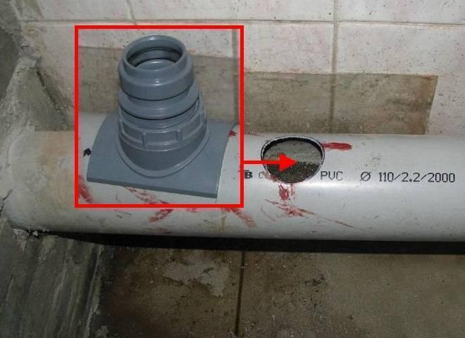 Как врезаться в канализационную трубу - способы и правила