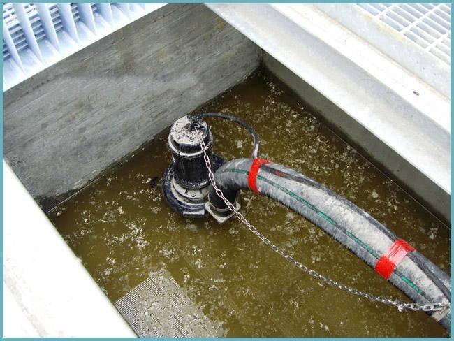 Фекальный насос для загородной канализации